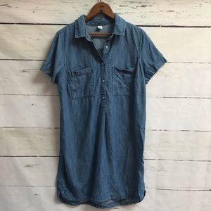 Old Navy denim dress size medium